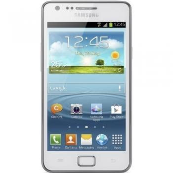 "Telefon Mobil Samsung Galaxy S2 i9105P Ceramic White 4.3"" 480 x 800 Super AMOLED Plus Dual Core 1.2GHz memorie interna 8GB Android 4.1 SAMI91058GBCW"