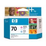 Cap Printare HP Nr. 70 Light Cyan & Light Magenta for Designjet Z2100 24', Z2100 44' Q6677A, Z2100 44' Q6677C, Z3200 24', Z3200 44', Z3200PS 24', Z3200PS 44', Z5200PS, Photosmart B8850, Pro B9180 C9405A