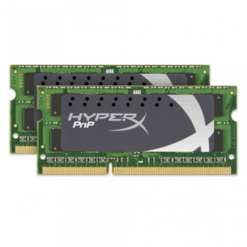 Memorie RAM Laptop SO-DIMM Kingston 2x8GB 1600MHz DDR3L Non-ECC CL9 1.35V/1.5V KHX16LS9P1K2/16