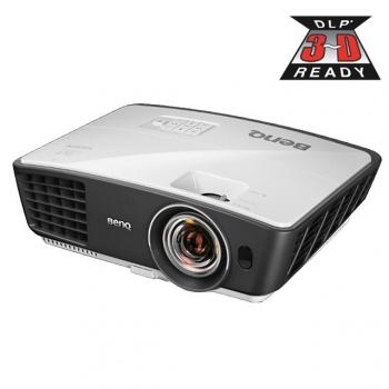 Videoproiector BenQ W770ST DLP 1280x720 3D Ready 2500ANSI 13000:1 HDMI VGA USB