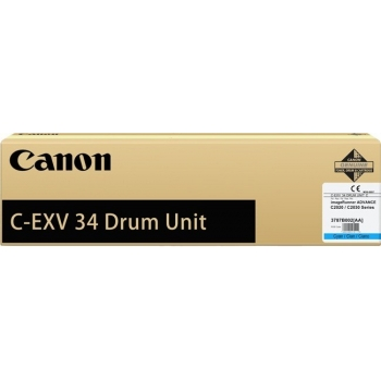 Unitate Cilindru Canon C-EXV34C Cyan 36000 Pagini for IR Advance C2020L, IR Advance C2030L CF3787B003BA