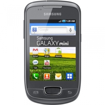 "Telefon Mobil Samsung Galaxy Pop Plus S5570i Metallic Grey 3.14"" 240 x 320 ARMv6 832 MHz Camera Foto 3.15MPx Android v2.2 SAMS5570MG"