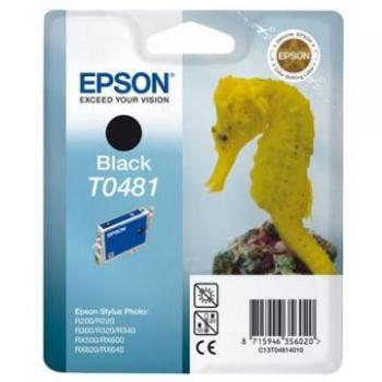 Cartus Cerneala Epson T0481 for Stylus Photo R200, Stylus Photo R220, R300, R320, R340, RX500, RX600, RX620, C13T04814010