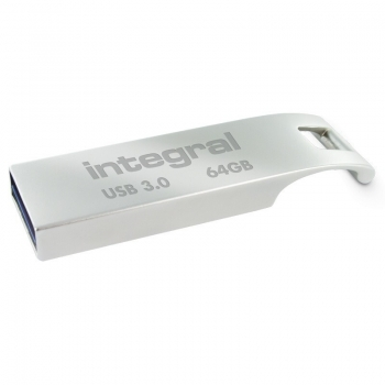 Memorie USB Integral ARC 64GB USB 3.0 metalic INFD64GBARC3.0