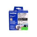 Rola Etichete Brother DK-11203 File Folder Label Dimensiune 17 x 87 mm White on Black