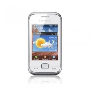 Samsung C3310 Champ Deluxe Pure White SAMC3310WHT