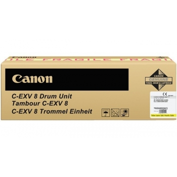 Unitate Cilindru Canon C-EXV8 Yellow 40000 Pagini for CLC 2620, CLC 3200, CLC 3220, IR C2620, IR C2620N, IR C3200, IR C3200N, IR C3220, IR C3220N, IR C3320, IR C3320N CF7622A002AA