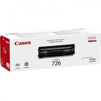 Cartus Toner Canon CRG-726 Black 2100 Pagini for LBP 6200D CR3483B002AA