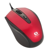 Mouse Serioux Pastel 3300 Optic 4 butoane 1600dpi USB rosu PMO3300-RD
