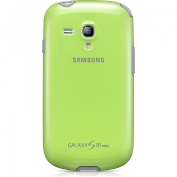 Husa Samsung pentru i8190 Galaxy S III Mini Green EFC-1M7BGEGSTD