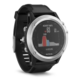 Ceas smartwatch Garmin Fenix 3 Heart Rate Bluetooth Wi-Fi Silver 010-01338-77