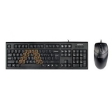 Kit Tastatura+Mouse A4tech KRS-8572-USB Tastatura KRS-85 + Mouse OP-720-B USB Black