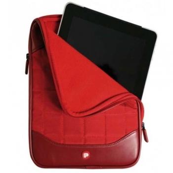 Husa tableta Berlin pentru iPad si iPad 2 red 201110