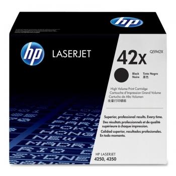 Cartus Toner HP Nr. 42X Black 20000 Pagini for LaserJet 4250, 4250N, 4350 Q5942X