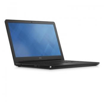 Laptop Dell Vostro 3558, 15.6-inch HD (1366 x 768) Anti-Glare LED- Backlit Display, Intel Core i5-5200U Processor (3M Cache, up to 2.70 GHz), video dedicat NVIDIA GeForce 820M 2GB DDR3L, RAM 4GB Single Channel DDR3L 1600MHz (4GBx1), HDD 1TB 5400 rpm SATA,