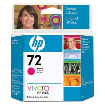 Cartus Cerneala HP Nr. 72 Magenta Vivera Ink 69 ml for DesignJet T1100, HP DesignJet T610 C9399A