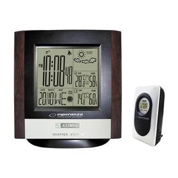 ESPERANZA EWS101 Multifuncional Weather Station with Wireless Outdoor Sensor [C9741091]