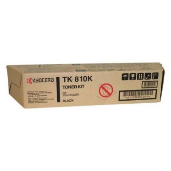 Cartus Toner Kyocera TK-810K Black 20000 Pagini for Kyocera Mita FS-C8026N