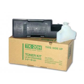 Cartus Toner Kyocera Mita TK-20H Black 10000 Pagini for FS-1700, FS-1700+, FS-1750, FS-3700, FS-3700+, FS-3750, FS-6700, FS-6900