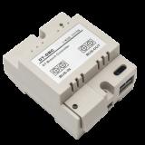 Distribuitor de semnal DT-DBC cu o ramura Cu ajutorul lui se realizeaza conectarea la magistrala a unui post interior.