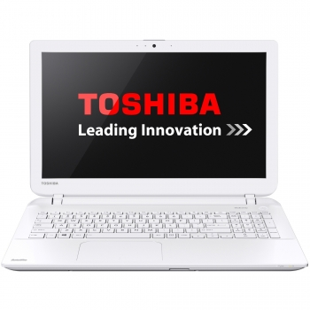 "Laptop Toshiba Satellite L50-B-1DH Intel Core i3 Haswell 4005U 1.7GHz 4GB DDR3L HDD 500GB Intel HD Graphics 4400 15.6"" HD White PSKT6E-00G004G6"