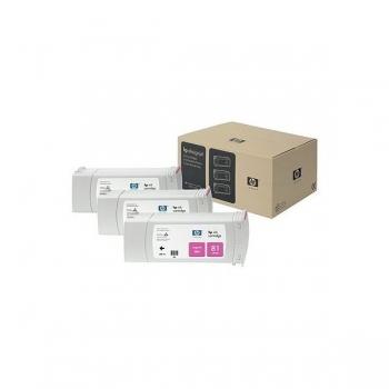 Pachet Cartus Cerneala HP Nr. 81 Dye Magenta 3 Bucati 680 ml for Designjet 5000/UV, Designjet 5500 42', Designjet 5500 60', Designjet 5500 PS 42', Designjet 5500 PS 60' C5068A