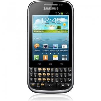 Telefon Mobil Samsung Galaxy Chat B5330 Black 850 MHz memorie interna 4GB Android v4.0 SAMB5330BLK