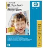Hartie Foto HP Q8696A Advanced Glossy Photo Paper Dimensiune: 5x7inch, 13x18 cm Numar coli: 25