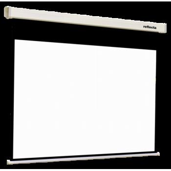 """Ecran proiectie electric E100-W01MW, 100""""(16:10), dimensiuni max. proiectie 2150x1340 mm (WxH), montare perete/tavan, alb, telecomanda"""
