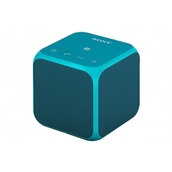 Boxa wireless portabila SONY SRS-X11, conectare Bluetooth NFC, putere de redare 10 W, culoare albastru
