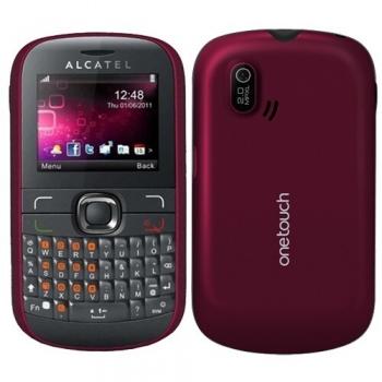Telefon Mobil Alcatel One Touch 585D Mystery Pink Dual Sim tastatura qwerty ALC585PNK