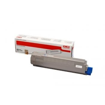 Cartus Toner Oki 44643003 Cyan 7300 Pagini for C801DN, C801N
