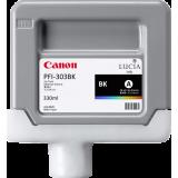 Pigment Ink Tank Canon PFI-303MBK Matte Black 330 ml for iPF810 iPF820 CF2957B001AA