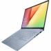 "Laptop ASUS VivoBook 14 X403JA-BM012 cu procesor Intel Core i7-1065G7 pana la 3.90 GHz, 14"", Full HD, 16GB, 512GB SSD, Intel Iris Plus Graphics, Endless OS, Silver Blue"
