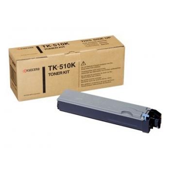 Cartus Toner Kyocera TK-510K Black 8000 Pagini for FS-C5020N, FS-C5025, FS-C5030N