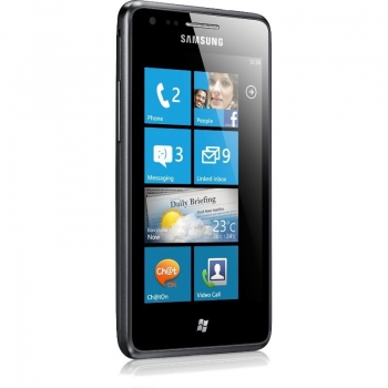"Telefon Mobil Samsung Omnia M S7530 Deep Gray 4"" 480 x 800 1GHz memorie interna 4GB Windows Mobile 7.5 Mango SAMS7530GR"