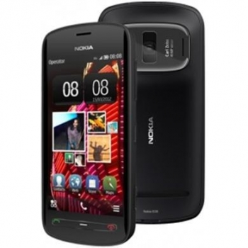 Telefon Mobil Nokia 808 PureView Black 41MP 3G Gorilla Glass NOK808BLK