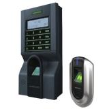 KIT de control acces si pontaj cu amprenta KIT-FPAP-8 Contine terminal de control acces si pontaj + cititor de amprente pentru exterior,Capacitate 1500 amprente
