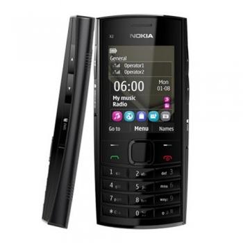 Telefon Mobil Nokia X2-02 Dark Silver Dual SIM NOKX2-02DS