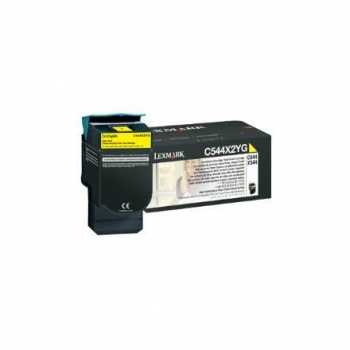 Cartus Toner Lexmark C544X2YG Yellow Extra High Yield 4000 pagini for C544, X544, X548