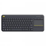 Tastatura Wireless Logitech Touch K400 Plus Black 920-007145
