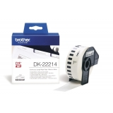 Banda Continua Hartie Brother DK22214 Dimensiune 12mm x 30.48m black on white
