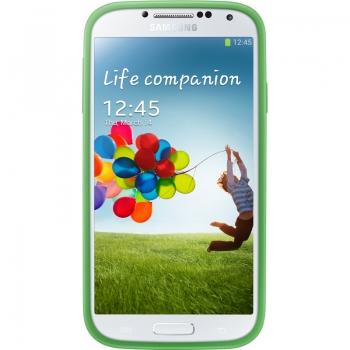 Husa Samsung Protective Cover+ Green pentru Galaxy S4 i9500 EF-PI950BGEGWW