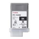 Cartus Cerneala Canon PFI-102PBK Photo Black 130 ml for LP17, LP24, iPF500, iPF6X0, iPF7X0 CF0895B001AA