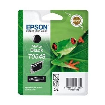 Cartus Cerneala Epson T0548 Matte Black for Epson Stylus Photo R1800, Stylus Photo R800 C13T05484010