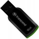 Memorie USB Transcend JetFlash 360 16GB USB 2.0 Black-Green TS16GJF360