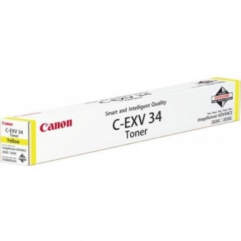 Cartus Toner Canon C-EXV34 Yellow 19000 Pagini for IR Advance C2020L/2030L CF3785B002AA