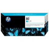 Cap Printare HP Nr. 80 Cyan for Designjet 1050, Designjet 1055 C4821A