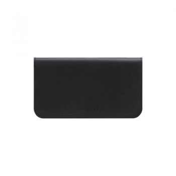 Husa protectie Samsung EF-C1A2LBECSTD Leather Pouch Black pentru i9100 Galaxy S II