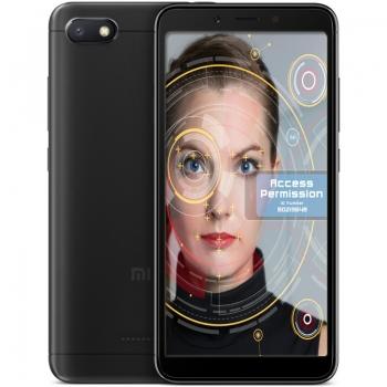 """Smartphone Xiaomi Redmi 6A Black Dual SIM 5.45"""" 720 x 1440 Quad Core 2GHz memorie interna 32GB Camera foto 13MPx Android 8.1 baterie 3000mAh"""